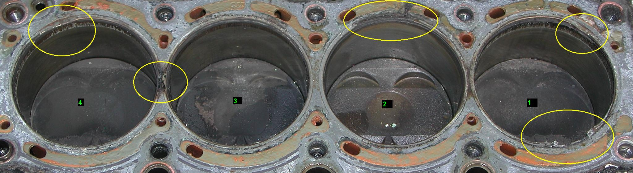 Signs Of A Blown Head Gasket >> AllTrac.net • View topic - Bad Head Gasket pics